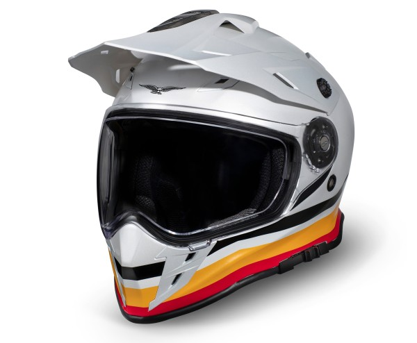Moto Guzzi Adventure Touring Helmet V85TT silver
