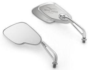 Mirror, set, aluminum, chrome for Moto Guzzi California