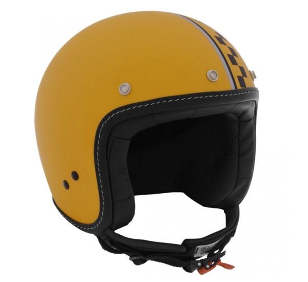 Moto Guzzi Jet Helmet Dull Yellow Bobber
