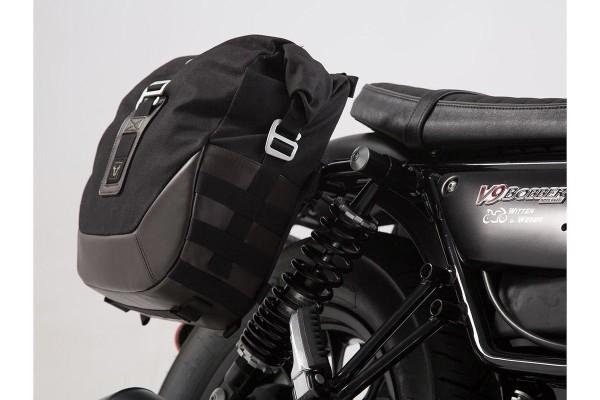 Side bag set Moto Guzzi V9 Roamer / Bobber (16-) SW Motech Legend Gear
