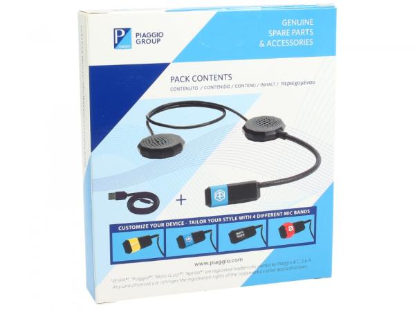 Bluetooth communication system Vespa / Piaggio / Aprilia / Moto Guzzi