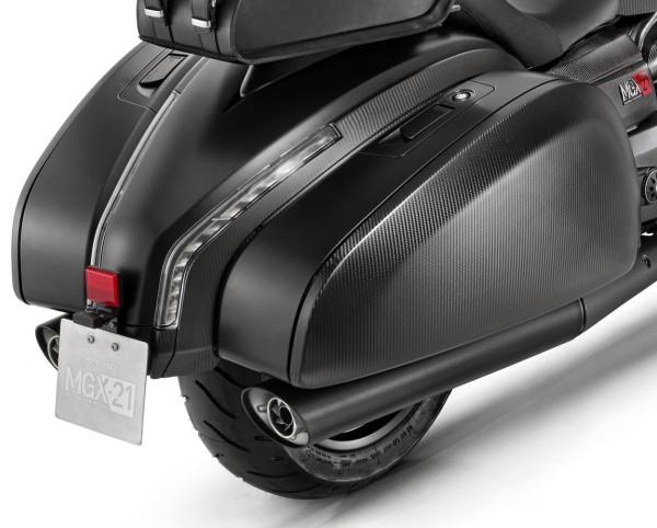 Original exhaust system slip-on for Moto Guzzi MGX 21
