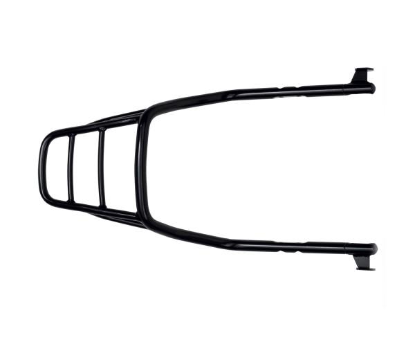 Rigid luggage rack, black for Moto Guzzi V9 Bobber