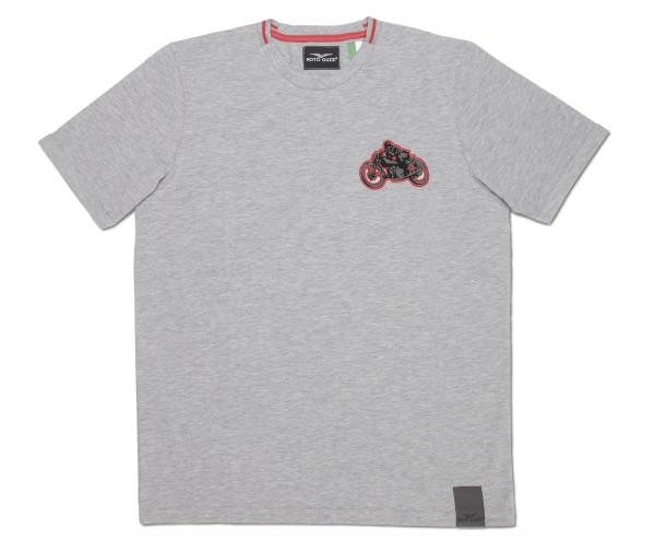 Moto Guzzi men's T-shirt garage cotton gray
