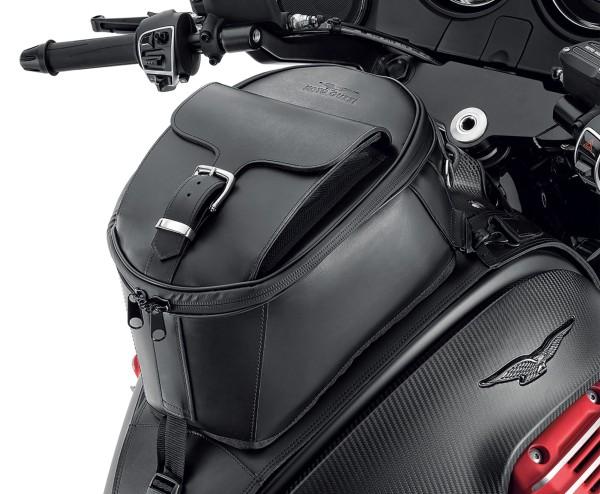 Original tank bag, leather for Moto Guzzi MGX 21