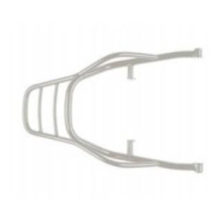 Luggage rack, rear, chrome, rigid for Moto Guzzi V7 850 2021-