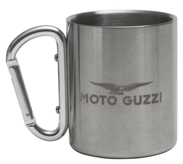 Moto Guzzi cup stainless steel