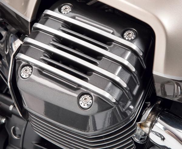 Original cover for cylinder head, gray for Moto Guzzi Audace / California / Eldorado