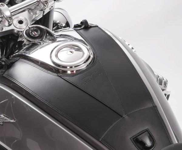 Original tank cover, leather for Moto Guzzi Eldorado