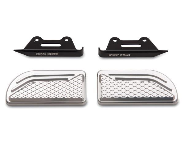 Original pads for footrests, aluminum for Moto Guzzi Audace