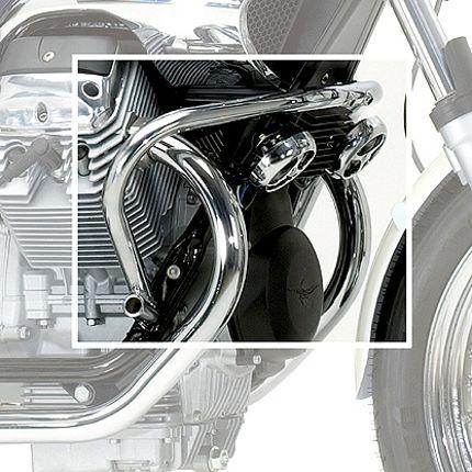 Moto Guzzi Nevada engine protection bar chrome