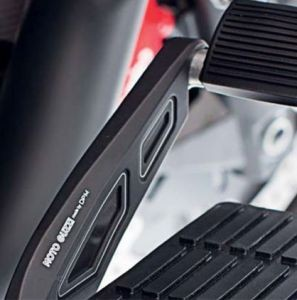 Cover, aluminum, black, for foot brake lever for Moto Guzzi MGX 21 / Audace