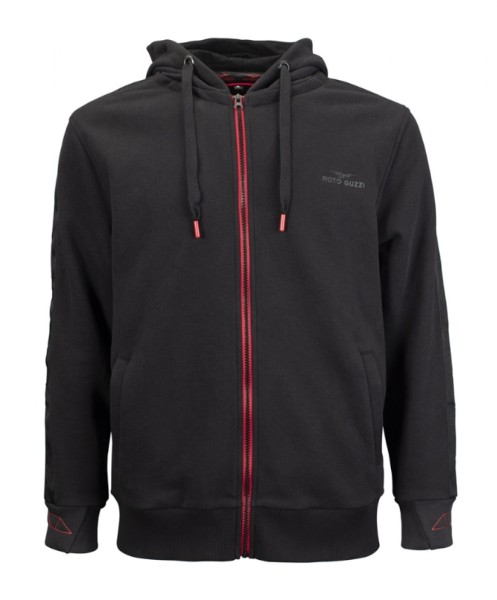 Moto Guzzi Sweat Shirt Jacket V85 TT cotton black