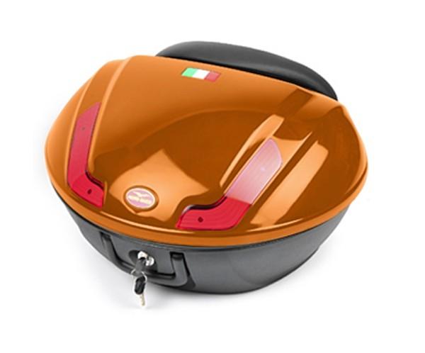 Top case kit, orange, 48 l