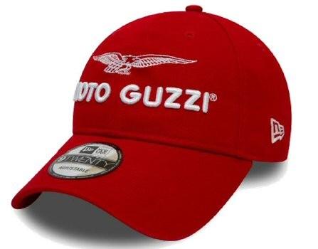 Moto Guzzi Base Cap Garage red