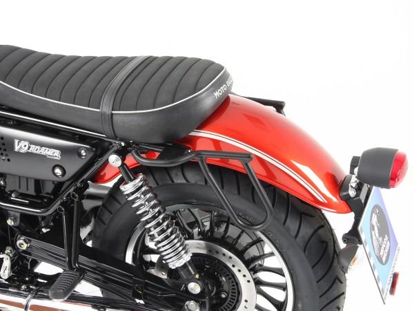 Leather pannier holder Cutout for V 9 Roamer (Bj.16-) original Hepco & Becker