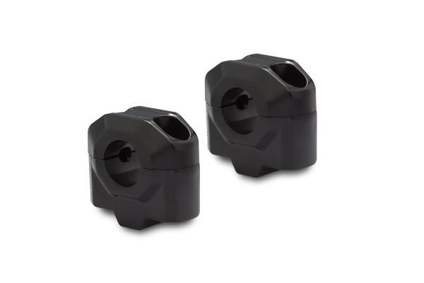 Handlebar riser 25 mm black for Moto Guzzi V7 III (16-) SW Motech