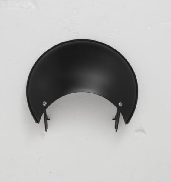 Cover, aluminum, black for Moto Guzzi V7 III