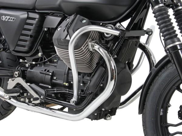 Engine protection bar chrome for V 7 II Classic (Bj.15-) original Hepco & Becker