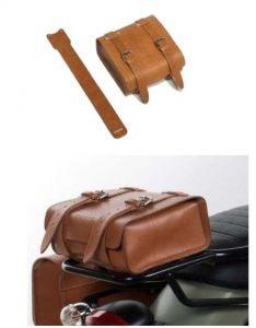 Original leather case, brown for Moto Guzzi V7 I + II