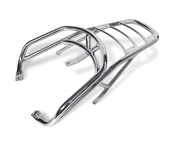 Original luggage rack, chrome, rigid for Moto Guzzi California