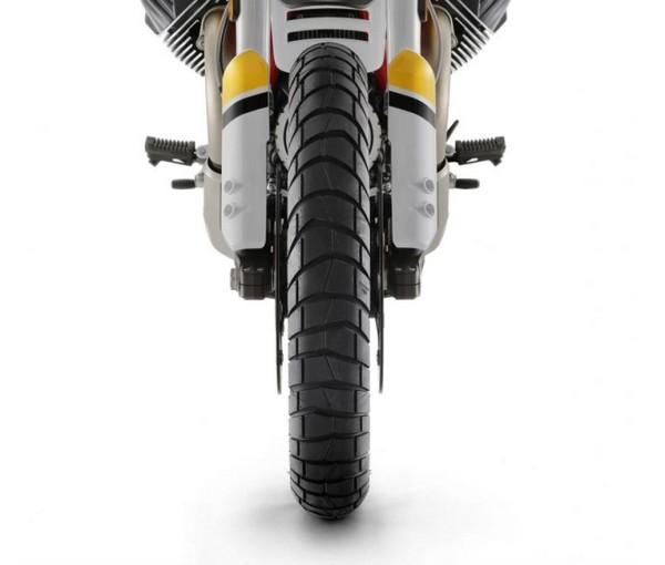Sport Adventure tire front Michelin Moto Guzzi V85 TT