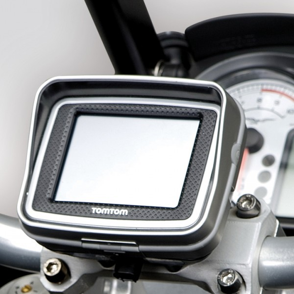 Moto Guzzi Stelvio holder for navigation system Tom Tom Rider II
