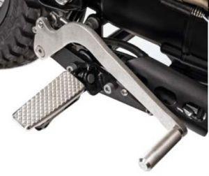 Original SET EXTENDED SHIFT / B for Moto Guzzi V7 I + II