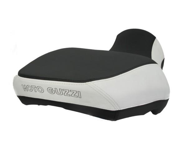 Moto Guzzi California seat comfort, black / white