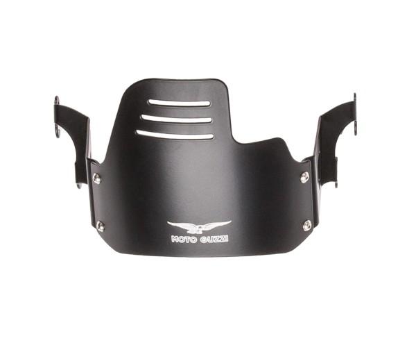 Original headlight cover, black for Moto Guzzi V9 Bobber