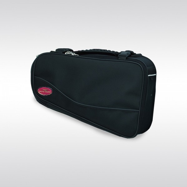 Original side bag, black for Moto Guzzi V7 I + II