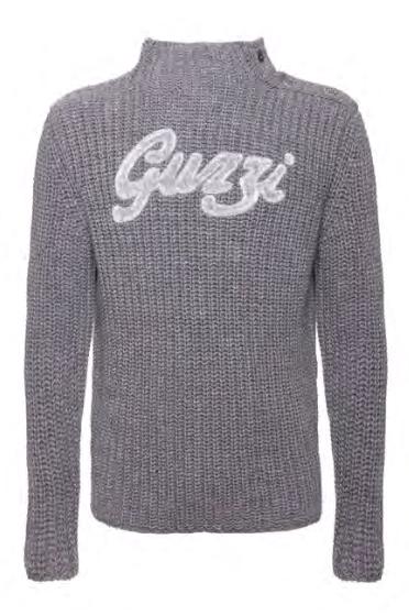 Moto Guzzi Sweater Historically gray