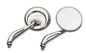 Original mirror, aluminum, silver for Moto Guzzi Eldorado